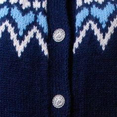 VINTAGE 50s Norwegian Sweater, fair isle sweater, shandknit cardigan - $112.00, via Etsy.