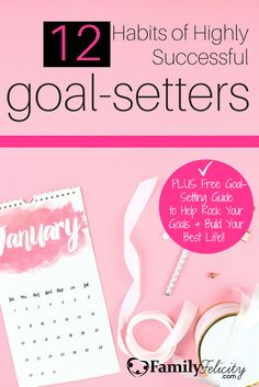 Goal setting is vital to building the life you really want to live, but can be challenging for busy moms. Click image to learn the 12 habits of highly successful goal setters and get your FREE Slay Your Year Goal Setting email course.