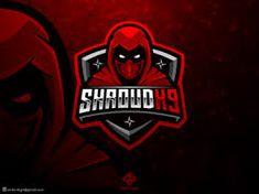 ( ROYALTY FREE ) Assassin / Ninja Mascot Logo Template designed by Erde Graphic Design. Ninja Red, Ninja Logo, The Legend Of Heroes, Team Mascots, Game Logo Design, 2 Logo, Assassin, Logo Templates, Wolf