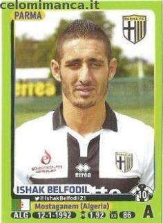 Calciatori 2014-2015: Fronte Figurina n. 387 Ishak Belfodil