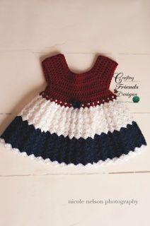 Diamond Dress Infant Crochet Patterns - Crafting Friends Designs