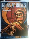 GUNS N ROSES OFFICIAL SAN FRANCISCO SHOW POSTER SAN FRANCISCO 8/9/16 DIRTY HARRY
