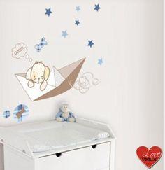 Love vinilos, para la decoración de la habitación del bebé