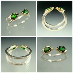 (Green) Hope Ring - Danielle Miller Jewelry