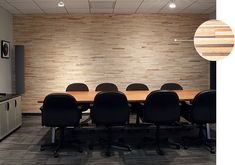 Artist Lounge, D'Addario & Company, Inc. selected the linear and dimensional Interwoven Eco-Panels Wood Panel Walls, Wood Paneling, Wood Wall, Creative Office Space, Corporate Interiors, Workplace Design, Hospitality Design, Wood Veneer, Interior And Exterior