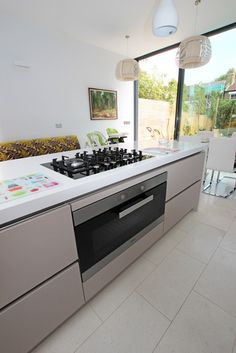 Kitchen appliances  Miele oven and Bosch gas hob