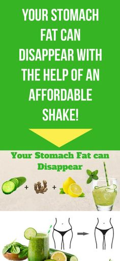 BURN YOUR STOMACH FAT WITH THE HELP OF AN RECIPE! – Medi Idea