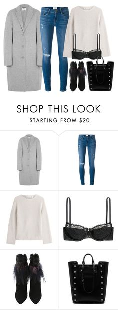 """""""Untitled #1173"""" by terryxx ❤ liked on Polyvore featuring Acne Studios, Frame Denim, Helmut Lang and Mulberry"""