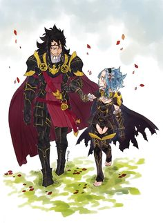 Fairy Tail Gajeel and Levy as Fire Emblem Fates characters: Xander and Female Corrin! Gale Fairy Tail, Rog Fairy Tail, Fairy Tail Amour, Anime Fairy Tail, Fairy Tail Art, Fairy Tail Guild, Fairy Tail Ships, Fairy Tales, Fairytail