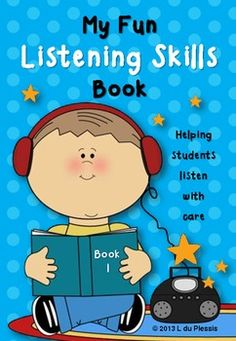 My Fun Listening Skills Book 1 - Can be used for:  - Whole class listening work - Individual listening work (record the instructions) - Reading comprehension work (photocopy the instruction sheets with the activity sheets and let them read and complete)  Included:  - 16 Activity sheets (can be copied and bound into a book) - 16 Instruction Sheets - 16 Color Answer sheets