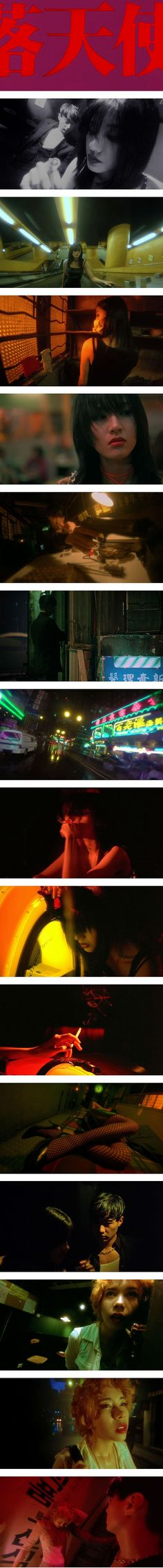 """""""Fallen Angels"""" (1995) by Wong Kar-Wai (Hong Kong) with Christopher Doyle as the director of photo"""