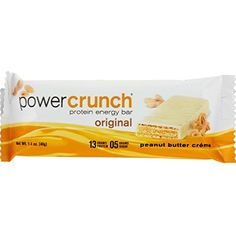 2Pack! Power Crunch Bar - Peanut Butter Cream - Case of 12 - 1.4 oz -- You can find more details by visiting the image link. (This is an affiliate link) #SportsNutrition
