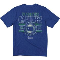 NHL CCM Vancouver Canucks Roundhouse Kick T-Shirt