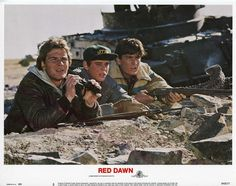 Red Dawn, US lobby card. 1984