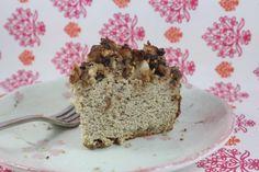 Apple Crumble Cake (Paleo, Gluten Free) | Words That Nourish