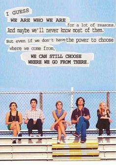 Perks of Being a wallflower. I need to watch this movie.