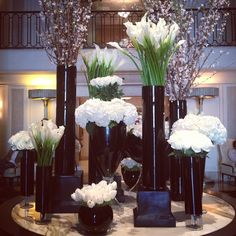 Flowers improve emotional health by triggering happy emotions. Stop by Beverly Wilshire to receive your dose of happiness with their gorgeous display.