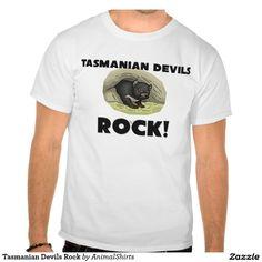 Tasmanian Devils Rock T-shirt