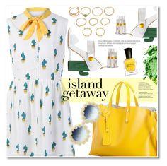 """Island Getaway"" by fshionme ❤ liked on Polyvore featuring MR by Man Repeller, Deborah Lippmann and islandgetaway"