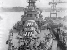 USS Arizona '34-'35 Superstructure