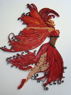 Quilling Fire Dance | Flickr - Photo Sharing!