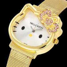 Hello Kitty Womens Watches Top Luxury Watch Reloj Mujer Hombre Saat Clock //Price: $9.95 & FREE Shipping // #hashtag1