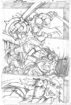 Warcraft pencils 2 by LudoLullabi on DeviantArt Comic Book Layout, Comic Book Pages, Comic Books Art, Comic Art, Comic Character, Character Design, Art Studio Room, Human Anatomy Drawing, Comic Tutorial