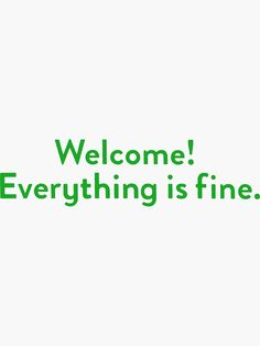 'The Good Place Welcome Wall' Sticker by yknot The Good Place Netflix, Films Netflix, Wallpaper Notebook, Place Quotes, Tv Shows Funny, Fandom Crossover, Simple Quotes, Everything Is Fine, Star Wars Poster
