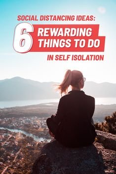 Stuck at home? That doesn't mean you can't do something remarkable! These self-isolation activities will keep you motivated, connected and inspired.