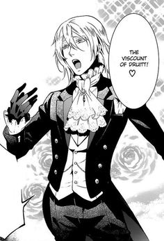 This is one of those characters that.....you just love to hate. Lol | Kuroshitsuji | Viscount Druitt