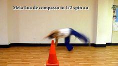 capoeira kicks with cartwheels