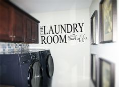 The Laundry Room Loads of Fun Wall Decals  www.tradingphrases.com