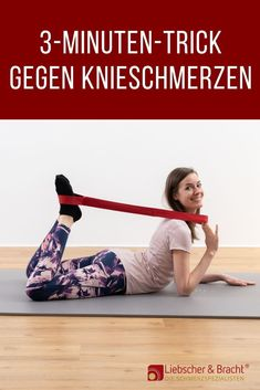 The trick against knee pain - Knieschmerzen - Fitness Fitness Workouts, Fitness Diet, Yoga Fitness, Health Fitness, Daily Health Tips, Health Advice, Health And Wellness, Fitness Motivation Quotes, Health Motivation