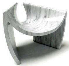 marble chair