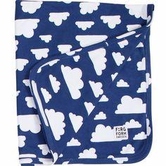 Moln Cloud Blue Baby's Blanket