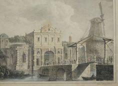 De Catharyne Poort te Utrecht - 1830. J.P. Houtman