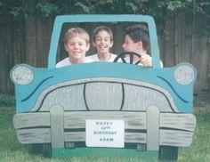 Photo Booth cumpleaños viajero