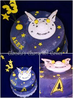 Star Trek Geburtstagstorte | Star Trek Birthday Cake