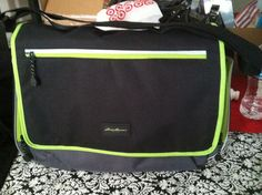 Ed Bauer Messenger Diaper Bag I Got Bags