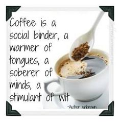 Here's some proof just how coffee can influence one's thinking. Check out these coffee quotes and coffee mugs with great quotes that have been around for years. Coffee Talk, Coffee Is Life, I Love Coffee, Coffee Break, Best Coffee, Coffee Cups, Coffee Coffee, Coffee Lovers, Coffee Shop