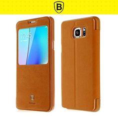 Neo Generation Baseus Samsung Galaxy S7 G9300 / Galaxy S7 Edge /Galaxy Note 5 Flip Case (Galaxy Note 5 - Brown) Baseus http://www.amazon.com/dp/B01DSKABQG/ref=cm_sw_r_pi_dp_feebxb0PMWAV7