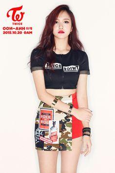 "Twice drop glorious ""Ooh-Ahh"" image teasers for Mina, Momo, Nayeon - Asian Junkie Moda Kpop, Nayeon, Kpop Girl Groups, Korean Girl Groups, Kpop Girls, Kpop Fashion, Korean Fashion, Kpop Mode, Ooh Ahh"