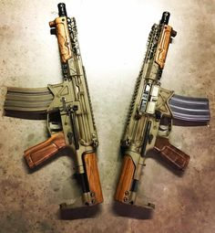 Battle Arms Development, Nevada USA, have released three pieces of highly desirable wood. You can spot them in the picture above, taken by TracerX. Made from Grade A French (is that going to put people off?) Walnut we find a handguard, a pistol grip and a cheek rest. In a world of metal, polymer and …   Read More …