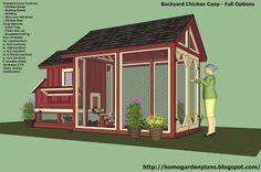 home garden plans: News: S101 - Small Chicken Coop Free - Free Chicken Coop Plans - How To Build A Chicken Coop