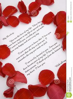 valentine wishes letter
