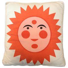 1stdibs.com | Alexander Girard Sun & Heart Pillow 1961. Herman Miller