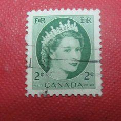Canada Old Used Postal stamp Canada, Stamp, Vintage, Stamps, Primitive