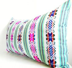 Long Bolster Pillows, Colorful Pillow, Bohemian Decor, Boho Bedding, Tribal Pillow, Black Friday Etsy, Cyber Monday Etsy$49