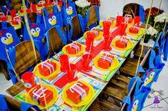 Olha que linda festa da Galinha Pintadinha!!Este continua sendo o tema mais pedido aqui no blog.Imagens do blogLyarts Ateliê.Lindas ideias e muita inspiração.Bjs, Fabíola Teles.Mais...