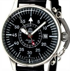 Automatic Military 24H Aeromatic Watch A1395 http://www.rugift.com/watches/aeromatic-1912-military-watches-a1395.htm